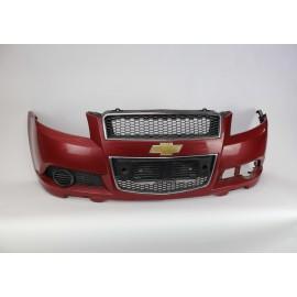 Paraurti Anteriore Chevrolet Aveo 2008 Rosso